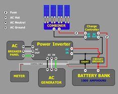 Solar Photovoltaic Panels Array Wiring Diagram Non Stop