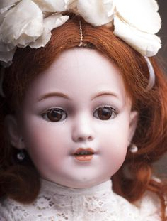 Simon & Halbig #1248, модель САНТА, 50 см - на сайте антикварных кукол.