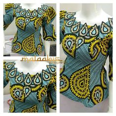 These 100+ Statement Ankara Peplum Tops By Maymunah Anka Will Amaze You - Wedding Digest Naija