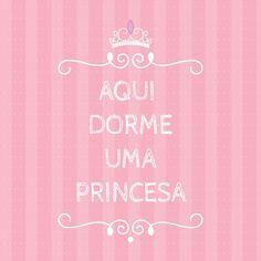 Poster - Aqui dorme uma princesa