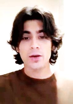 And sometimes he needs to move them out of the way, but he does it gently because they deserve respect and serenity. | Zayn Malik With Long Hair Is The Most Perfect Version Of Zayn Malik