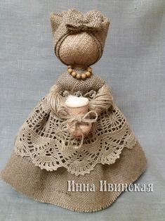 Pin on Dolls of felt Hessian Crafts, Fabric Crafts, Burlap Lace, Burlap Flowers, Fairy Dolls, Doll Crafts, Handmade Toys, Doll Patterns, Beautiful Dolls