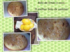 Os Bolos da Pipa: lemon coconut cake