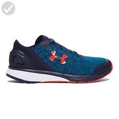 Under Armour Men's Charged Bandit 2 Running Shoes (Peacock/Midnight Navy, Size - Men's Running Shoes at Academy Sports Sneakers Mode, Sneakers Fashion, Shoes Sneakers, Cross Country Running Shoes, Black Running Shoes, Mens Puma Shoes, Shoe Department, Shoe Deals, Trail Shoes