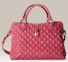 Marc Jacobs Rio Snakeskin Embossed Purse