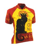 $74.90 Chat Noir Cycling Jersey