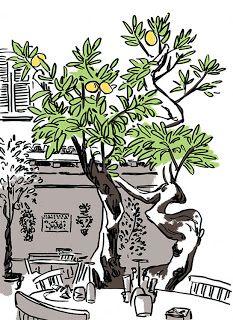 Momiji no kami: Un carnet de croquis dans la valise...