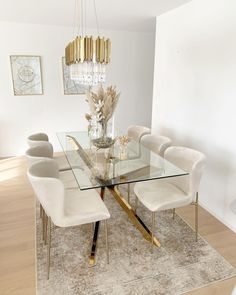 Home Room Design, Dining Room Design, Home Interior Design, Dining Room Inspiration, Home Decor Inspiration, Home Living Room, Living Room Decor, Beige Living Rooms, Luxury Dining Room