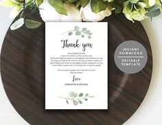 Printable Welcome letter Wedding Welcome Bag Note