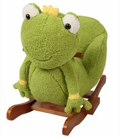 Buy your Frog Rocking Animal With Chair reviews from Kiddicare Christmas Gift Ideas| Online baby shop | Nursery Equipment