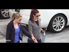 Jennifer Garner and friend in early workout
