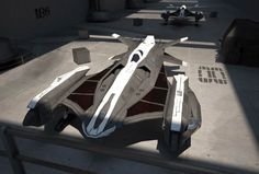 Phantom spaceship by dactilardesign Spaceship modelled by Spectre for Infinite Universe (unreleased game).