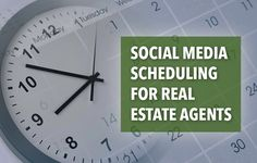 Use these content and scheduling tips to enhance your social posts and maximize your social media presence for your real estate marketing. http://plcstr.com/1CiDZ3B #realestate #socialmedia