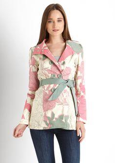 SMASH! Sanjo Belted Coat Love this