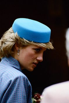 Diana, Princess of Wales in Canberra, Australian Capital Territory, Australia on June 11, 1985