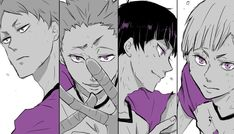 F(@ufuxtu02hq)さん | Twitter Kuroo, Kenma, Kageyama, Haikyuu Manga, Haikyuu Fanart, Goshiki Tsutomu, Character Art, Character Design, Ushijima Wakatoshi
