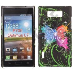 Valentine (Color Butterfly) LG Optimus L7 Deksel
