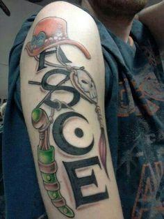 Ace's Tattoo   One Piece