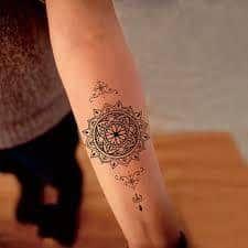 What does sanskrit tattoo mean? We have sanskrit tattoo ideas, designs, symbolism and we explain the meaning behind the tattoo. Sanskrit Tattoo, Namaste Tattoo, Sanskrit Mantra, Totem Tattoo, Tattoos Mandalas, Mandala Tattoo, Lotus Mandala, Fake Tattoo Sleeves, Sleeve Tattoos