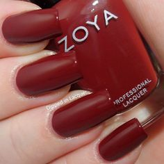 Dipped in Lacquer - Zoya Pepper