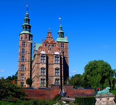 Rosenborg Slot, Kongens Have, Copenhagen, Denmark.   With David Ebershoff in The Danish Girl.