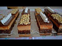 prajitura cu ciocolata si caramel fara coacere - YouTube Tiramisu, Caramel, Yummy Food, Baking, Ethnic Recipes, Desserts, Cakes, Youtube, Projects