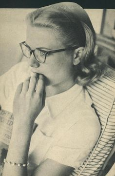 Grace in Jamaica. 1955  By Howell Conant  #Glasses