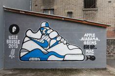 #sneaker #paint #art by #grems #Nike #Airjordan