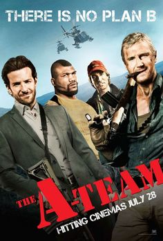 The A-Team (2010) a film by Joe Carnahan + MOVIES + Liam Neeson + Bradley Cooper + Sharlto Copley + Jessica Biel + Quinton 'Rampage' Jackson + cinema + Action + Adventure + Comedy