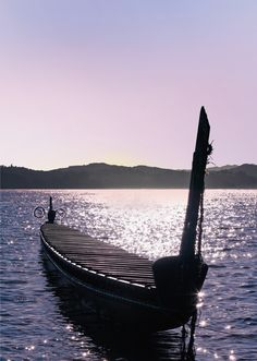 The Waka is a type of canoe traditionally used by Maori ranging in size from 2-3 metres to over 40 metres. The original Polynesian settlers to New Zealand used large ocean-going Waka to reach these lands.  #activeadventures.com Image from Destination Northland Inc