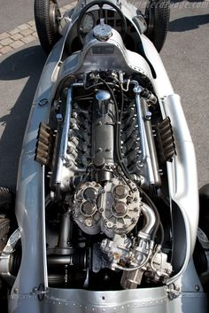 Engineering Beauty: Auto Union Type D Audi Autos, Models Men, Automobile, Auto Union, Race Engines, Old Race Cars, Vintage Race Car, Car Engine, Amazing Cars