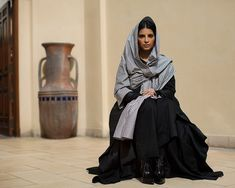 On the Street… Reem Al Kanhal, Dubai - The Sartorialist