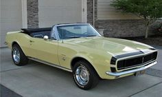 1967 Camero RS Convertible--This is what mine and my ex's Camero looked like...except it was a black top...Damn I miss her...