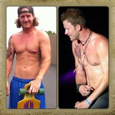 Tyler Hubbard and Brian Kelley from Florida Georgia Line.