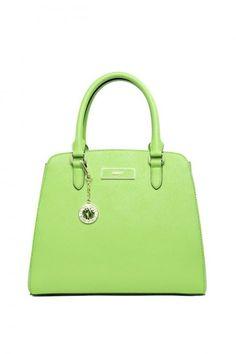 Collezione borse DKNY Primavera Estate 2014 - Tote verde chiaro - #dkny #bags #bag