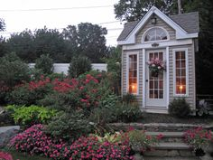 25 Gorgeous Garden Sheds --> http://www.hgtvgardens.com/photos/structures-photos/25-great-greenhouses-and-garden-sheds?soc=pinterest
