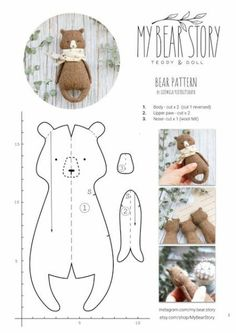 Best 12 PDF Sewing Pattern & Tutorial Mohair Rabbit 6 Inches Stuffed Animal Pattern Easter Bunny Pattern Artist Teddy Bear Pattern For Woman – SkillOfKing. Sewing Toys, Sewing Crafts, Felt Crafts, Fabric Crafts, Tilda Toy, Fabric Toys, Toy Craft, Sewing Projects For Beginners, Felt Toys