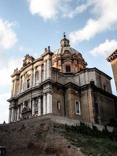 Iglesia de San Lucas y Santa Martina (Roma - Italy)