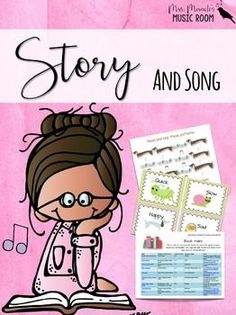 Story and Song {Children's Literature for the Music Classroom}: Includes music lessons with children's literature, book indexes, bulletin board visuals, and more!