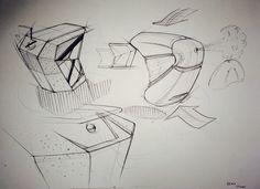 Perfume bottle # felt pen Perfume Bottles, Sketch, Felt, Style, Sketch Drawing, Swag, Felting, Perfume Bottle, Sketches