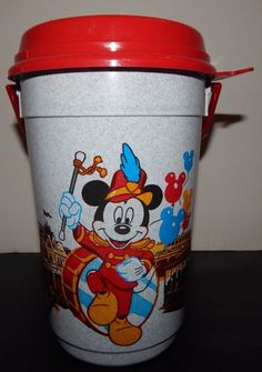 Walt Disney World Parks Main St USA Bandleader Mickey Mouse Popcorn Bucket | eBay