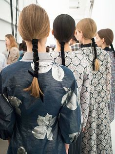 13 Hairstyles From New York Fashion Week We're Obsessed With – Hair Styles 2020 My Hairstyle, Ponytail Hairstyles, Trendy Hairstyles, Ribbon Hairstyle, Fashion Hairstyles, Makeup Hairstyle, Summer Hairstyles, Hairstyle Ideas, Catwalk Hair