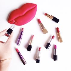 Don't get Lippy   #beauty #lipstick #flatlay