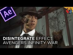 INFINITY WAR Disintegration in Adobe After Effects - YouTube Adobe Premiere Pro, After Effect Tutorial, After Effects, Infinity War, Motion Graphics, Multimedia, Filmmaking, Video Editing, Tutorials