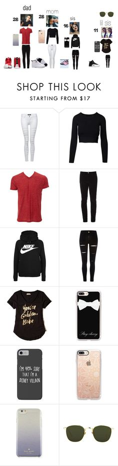 """come on with it"" by dymonjones-1 ❤ liked on Polyvore featuring Pilot, Gucci, NIKE, River Island, Hollister Co., Casetify, Disney, Kate Spade and Linda Farrow"