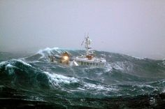 rough seas in the southern ocean for the crew of this kiwi fishing boat Sea State, Cherbourg, Big Sea, Rough Seas, Fishing Vessel, Stormy Sea, Brest, North Sea, Big Waves