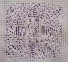 Crochet Vest + Diagrams