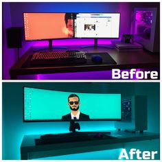 Pc Gaming Setup Awesome How Gaming Pc Components Gaming Desk Setup, Best Gaming Setup, Gamer Setup, Computer Setup, Pc Setup, Office Setup, Computer Technology, Pc Computer, Technology Gadgets