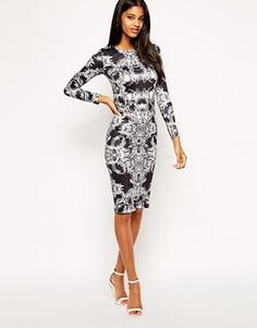Buy ASOS Baroque Dress at ASOS. With free delivery and return options (Ts&Cs apply), online shopping has never been so easy. Get the latest trends with ASOS now. Mesh Dress, Dress Up, Bodycon Dress, Style Couture, Haute Couture Fashion, Asos, Pretty Outfits, Cute Outfits, Baroque Dress
