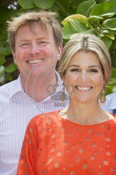 King Willem-Alexander and Queen Maxima visit Oranje Fonds project Aruba
